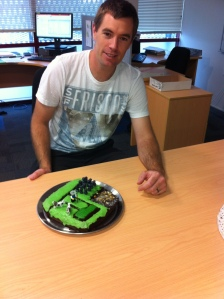 jack resaerch cake