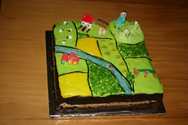 sustainability cake