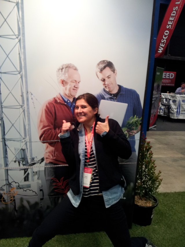 femke at field days