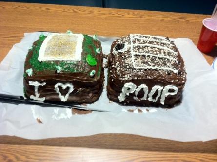 Cooper Research Cake