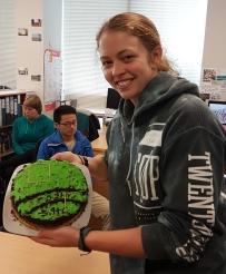 Jamie Millar's irrigation cake